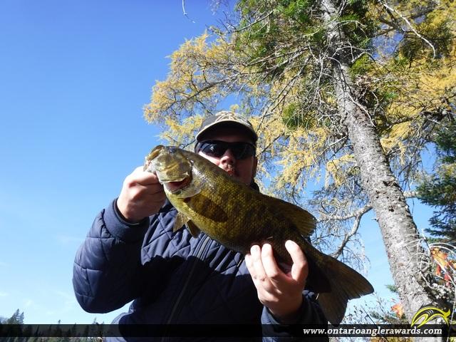 "20"" Smallmouth Bass caught on Mink Lake"