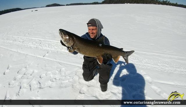 "32"" Lake Trout caught on Lake Joseph"