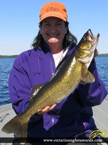 "26.5"" Walleye caught on Wawang Lake"