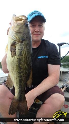 """20.00"""" Largemouth Bass caught on Wasi Lake"""