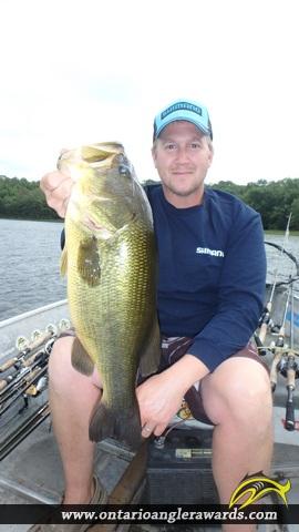 """20.00"""" Largemouth Bass caught on Commanda Lake"""