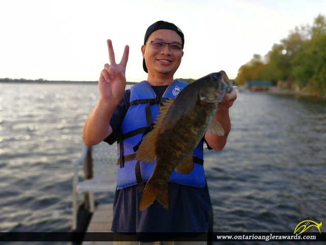"19"" Largemouth Bass caught on Dalrymple Lake"