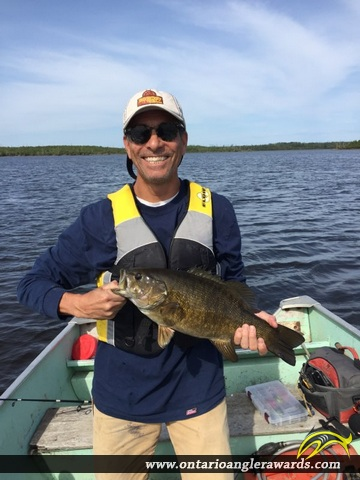 "20"" Smallmouth Bass caught on Expanse Lake"