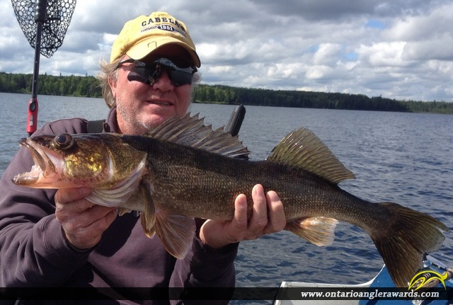 "26"" Walleye caught on Wawang Lake"
