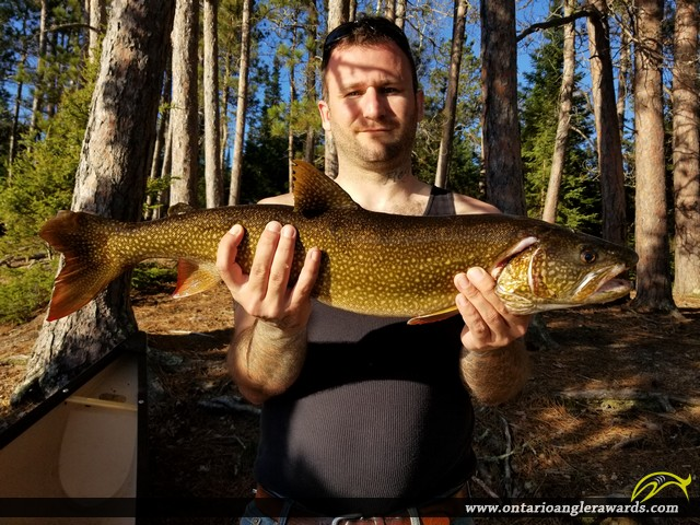 "27"" Lake Trout caught on Manomin Lake"