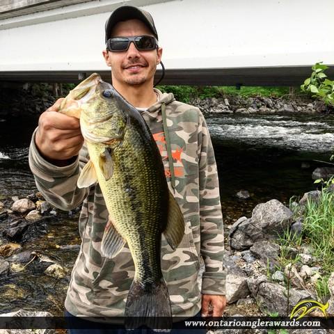 """18"""" Largemouth Bass caught on Lake X"""