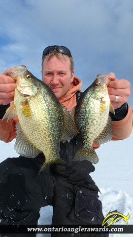 "10.00"" Black Crappie caught on Commanda Lake"