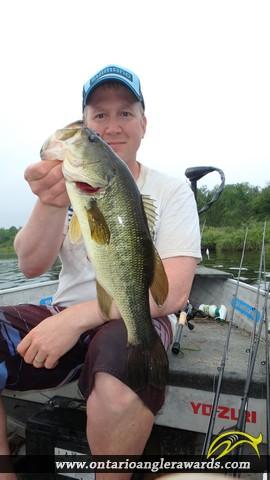"""18.02"""" Largemouth Bass caught on Wasi Lake"""