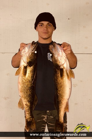 """27"""" Walleye caught on St. Lawrence River"""