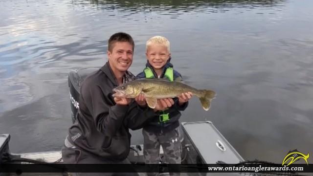 "26.5"" Walleye caught on Little Sand Lake"