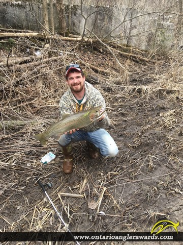 "26"" Rainbow Trout caught on Smithfield Creek"