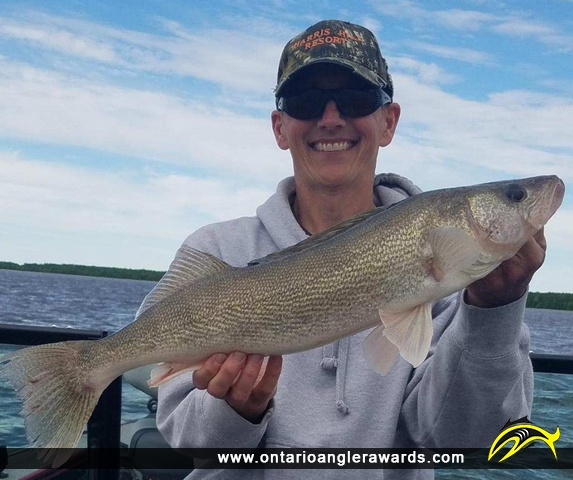 """26.5"""" Walleye caught on Lake of the Woods"""