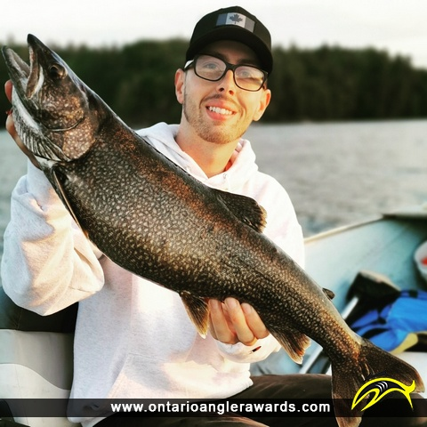 "30"" Lake Trout caught on Charleston Lake"