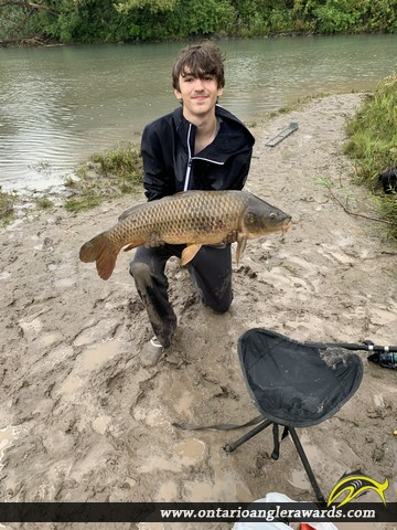 "34.75"" Carp caught on Welland Canal"