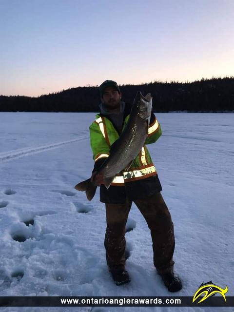 "39"" Lake Trout caught on Lake Santoy"