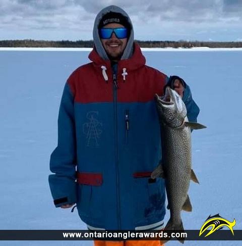 """34"""" Lake Trout caught on Lake Manitou"""