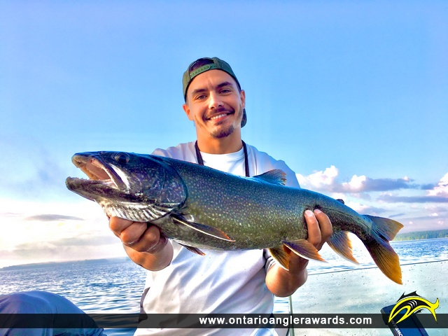 """29"""" Lake Trout caught on BR"""