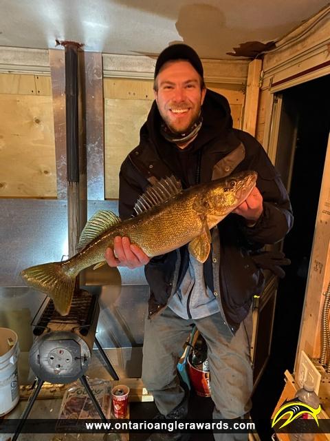 "26"" Walleye caught on Ottawa River"