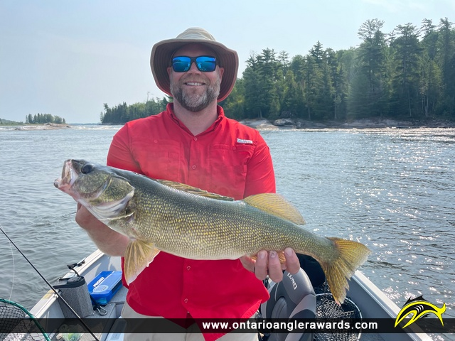 """26"""" Walleye caught on English River"""