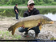 "35"" Carp caught on Nation River"