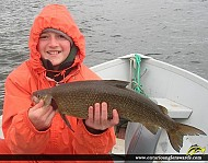 "22"" Whitefish caught on Wawang Lake"