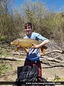 "38"" Carp caught on Grand River"