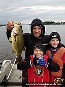 """19"""" Largemouth Bass caught on Ottawa River"""