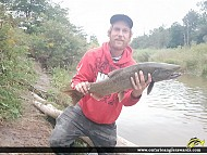 "30"" Coho Salmon caught on Bowmanville Creek"