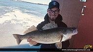 """26"""" Walleye caught on Bay of Quinte"""