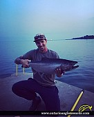"38"" Chinook Salmon caught on Lake Ontario"