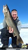 """30.00"""" Lake Trout caught on Wilson Lake"""