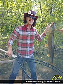"33"" Northern Pike caught on Ottawa River"