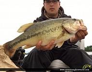 "20"" Largemouth Bass caught on Colins Lake"