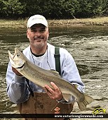 """28"""" Rainbow Trout caught on Beaver River"""