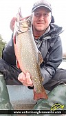 """18.00"""" Brook/Speckled Trout caught on Widgeon Lake"""