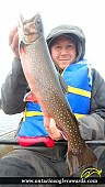 """19.00"""" Brook/Speckled Trout caught on Cedar Lake"""