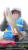 """19.50"""" Brook/Speckled Trout caught on Cedar Lake"""