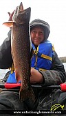 """20.75"""" Brook/Speckled Trout caught on Cedar Lake"""