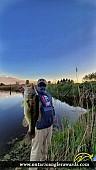 "24"" Largemouth Bass caught on Irrigation Pond"