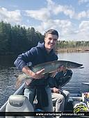 """38"""" Muskie caught on Canyon Lake"""