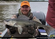 """25.75"""" Walleye caught on Lac Seul"""