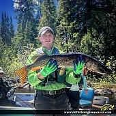 "39"" Northern Pike caught on Kapikotongwa Lake"