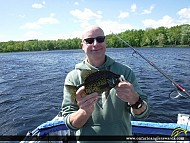 "11.0"" Black Crappie caught on Moira Lake"