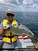 """23"""" Rainbow Trout caught on Lake Erie"""