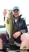 """18.10"""" Largemouth Bass caught on Wasi Lake"""