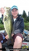 "19.00"" Largemouth Bass caught on Wasi Lake"