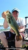 """18.06"""" Largemouth Bass caught on Wasi Lake"""