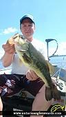 """18.09"""" Largemouth Bass caught on Wasi Lake"""