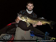 "29.25"" Walleye caught on Georgain Bay"