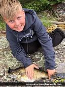 "18.5"" Smallmouth Bass caught on Star Lake"